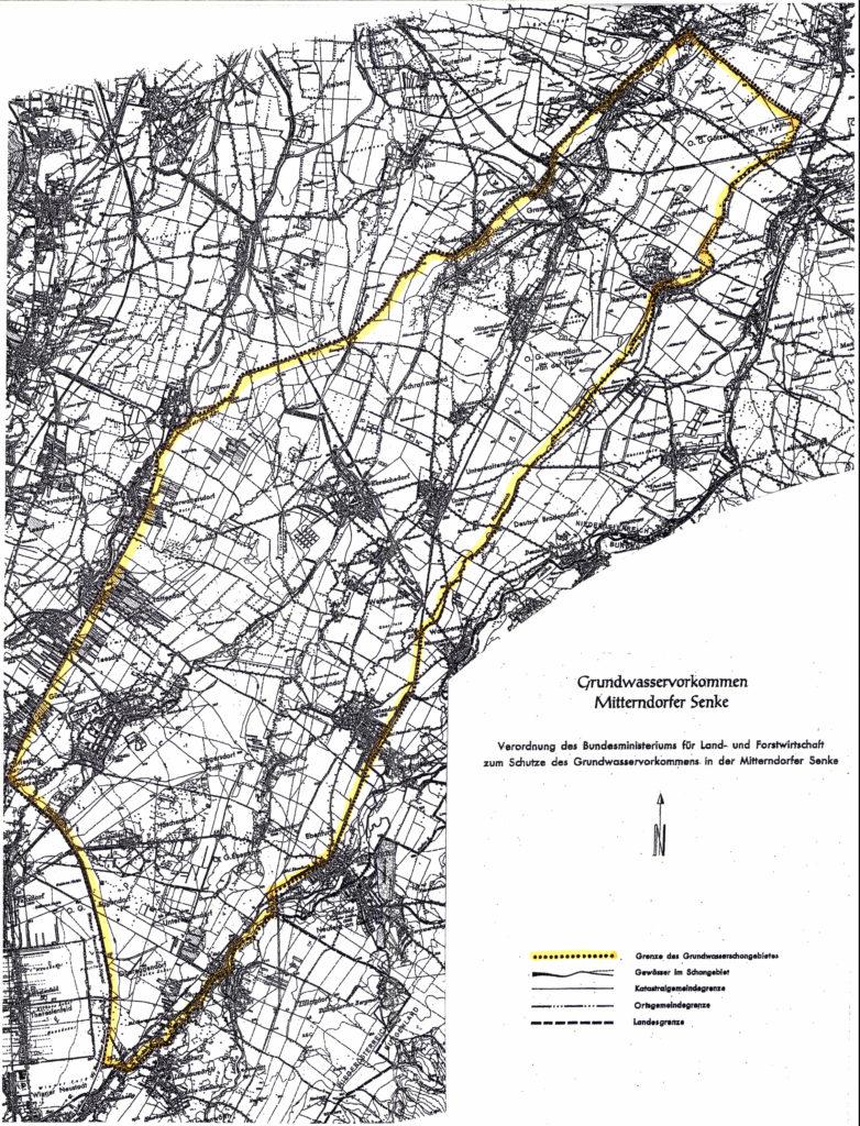 Grundwasservorkommen Mitterndorfer Senke